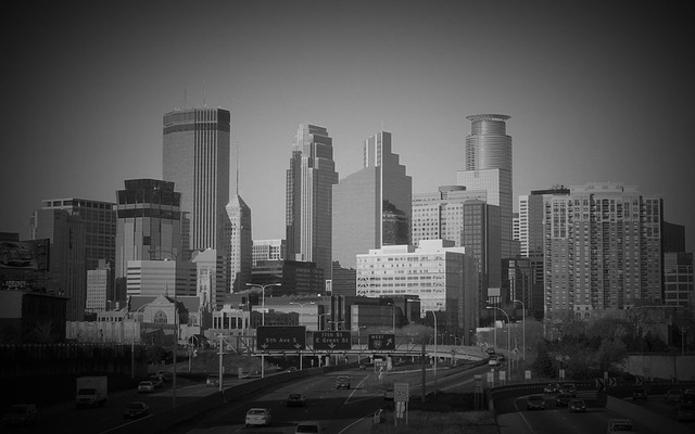 Skyline von Minneapolis